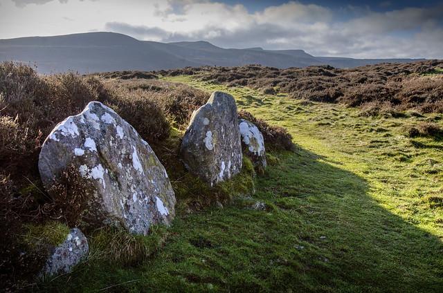 Iron Age Hill Fort, near Rothbury, Northumberland