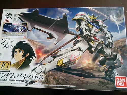 HG Gundam Barbatos Unboxing