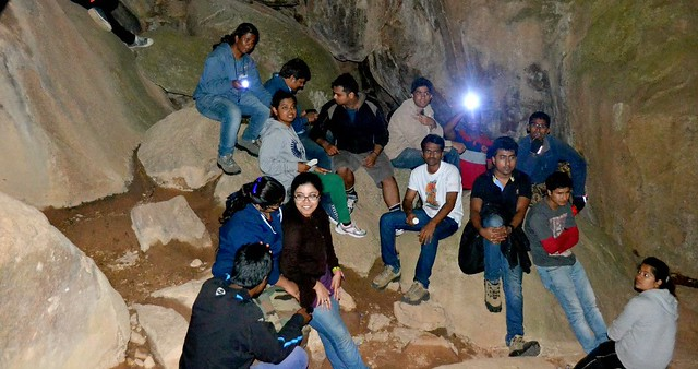 Anthargange Night Trek and Cave Exploration Near Bangalore