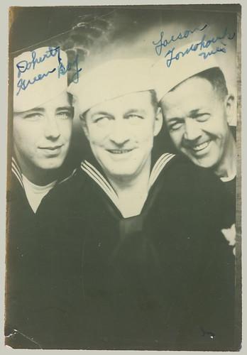 Photobooth three sailors