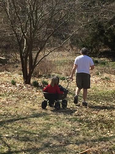 Pa's new garden cart