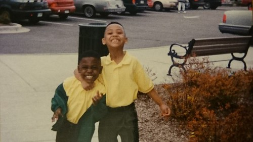 Ron and brother as kids