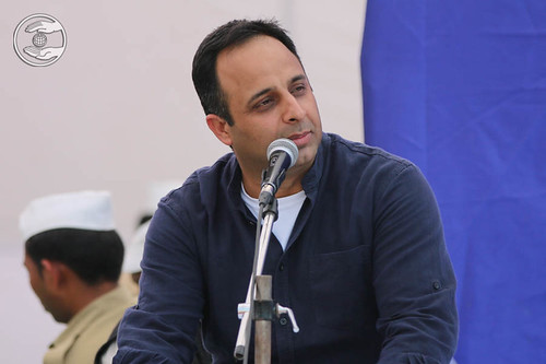 Stage Secretary, Sandeep Gulati from Gurgaon, Haryana