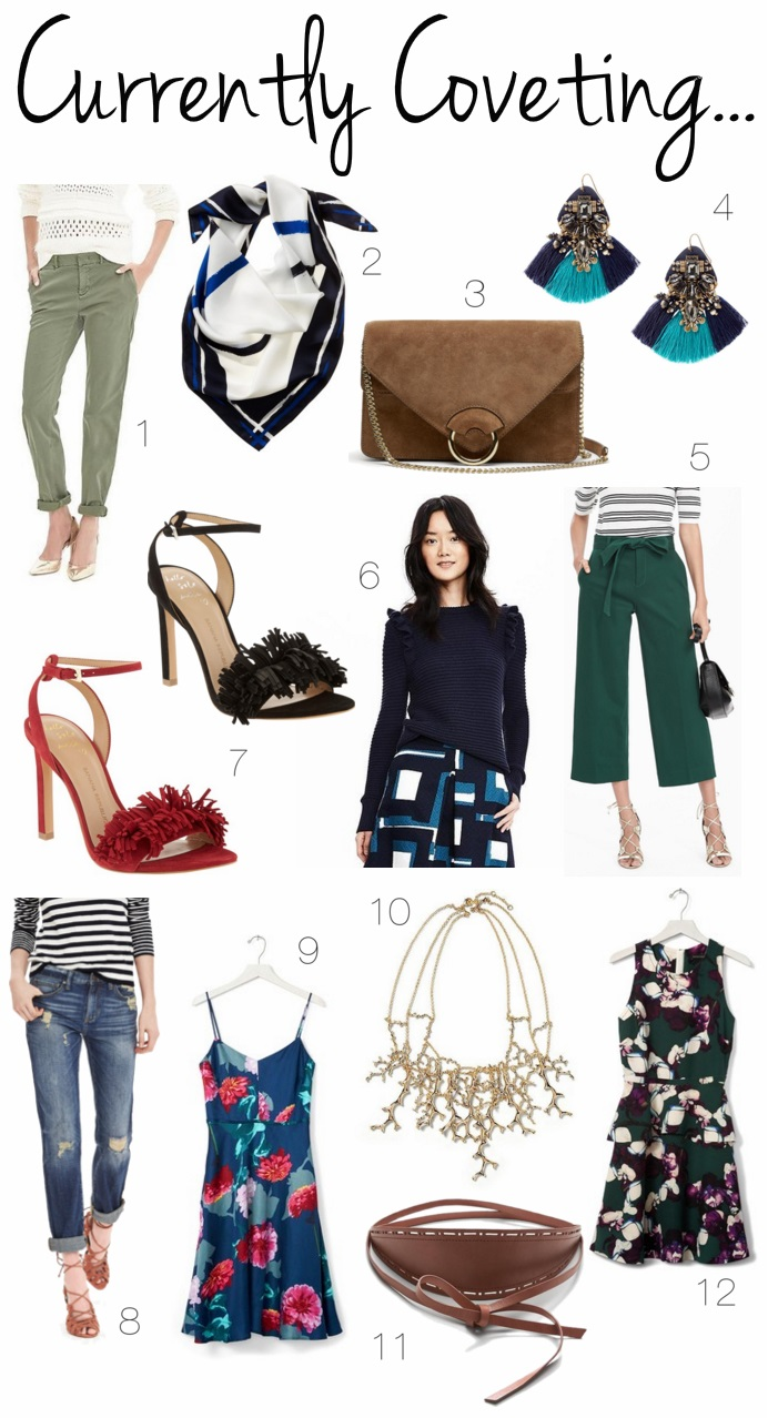 Banana Republic Spring 2016 Shopping List