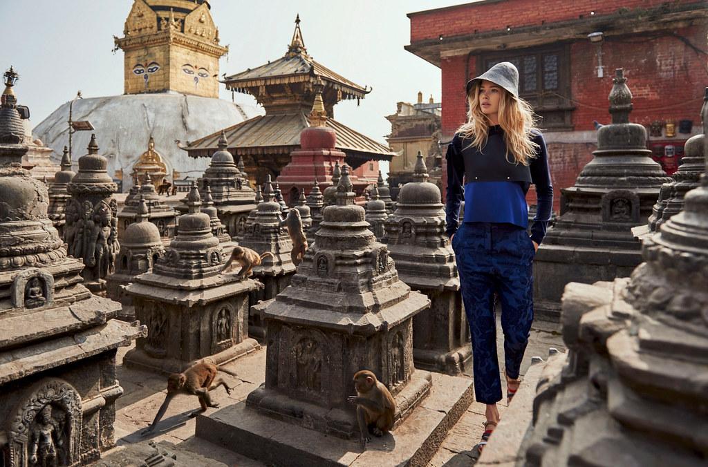 Даутцен Крус — Фотосессия для «Vogue» NL 2016 – 4