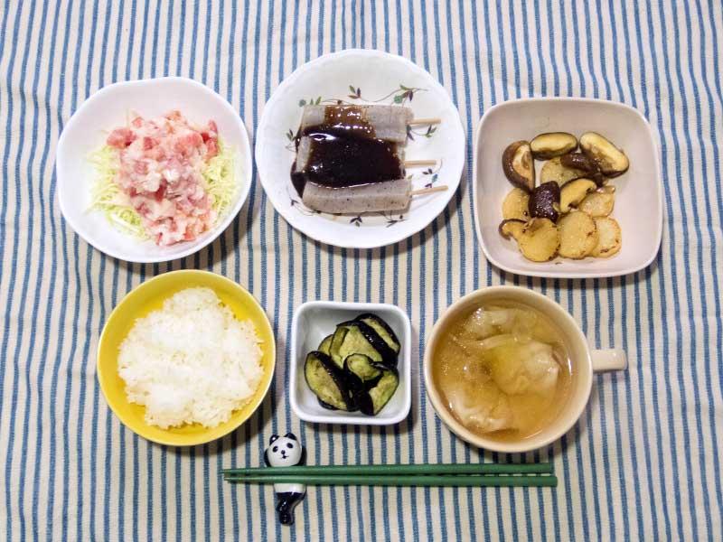 2016年3月27日の晩ご飯