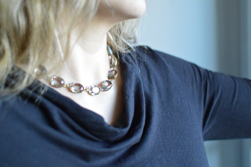From Sacred Cake on Etsy, Elegance like Anna Wintour's necklaces