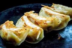 Freshly fried dumplings