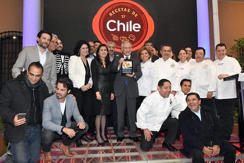 Lanzamiento aplicación Recetas de Chile