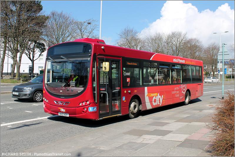 Plymouth Citybus 109
