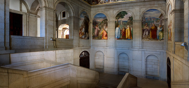 escorial palace interior
