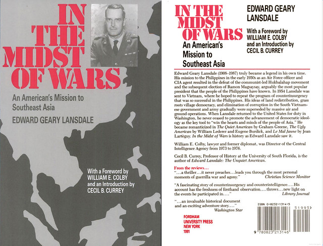 In the Midst of Wars: An American's Mission to Southeast Asia - By Edward Geary Lansdale - Hồi Ký của Lansdale