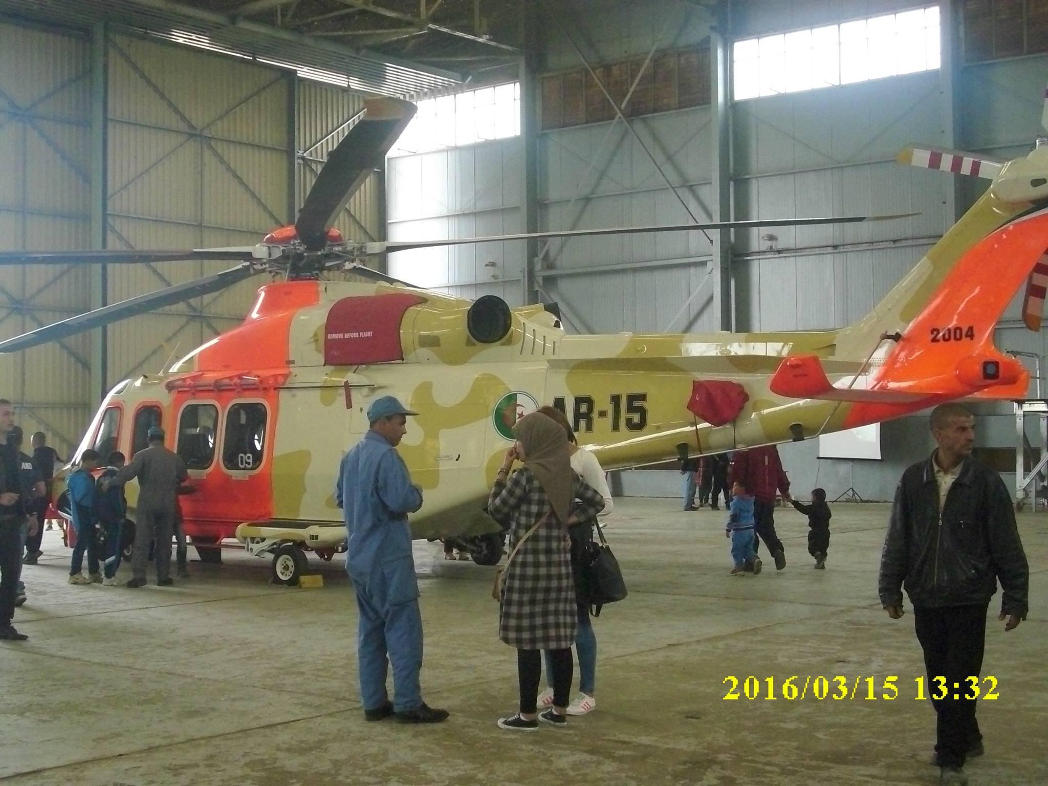 صور مروحيات القوات الجوية الجزائرية  [ AW-139 SAR ] - صفحة 2 25907125865_267a5414b9_o