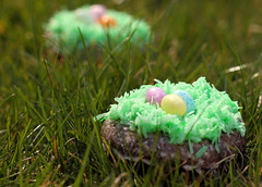 Easter Donut Nests