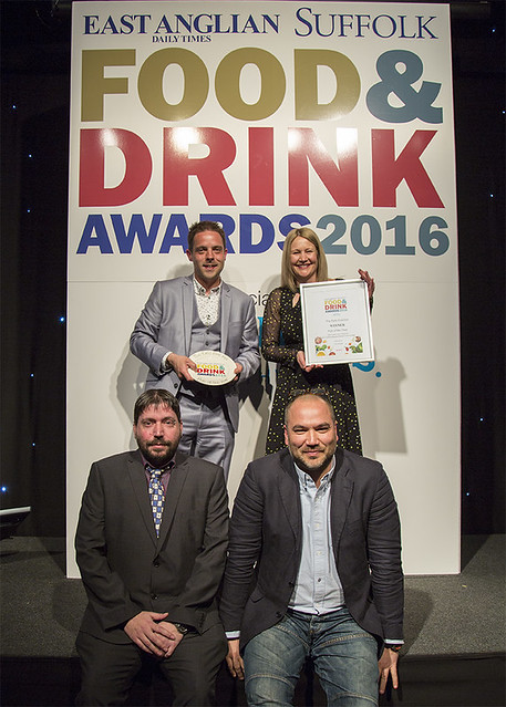 EADT Suffolk Food & Drink Awards 2016
