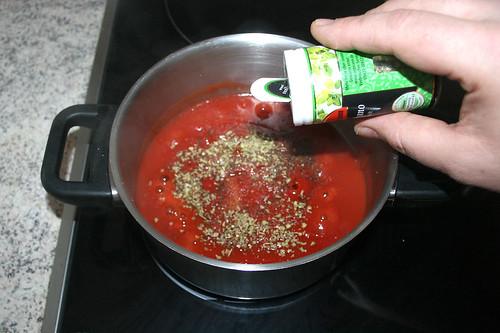 11 - Mit Oregano abschmecken / Taste with oregano