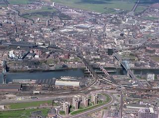 Bridges across the River Tyne, 1978