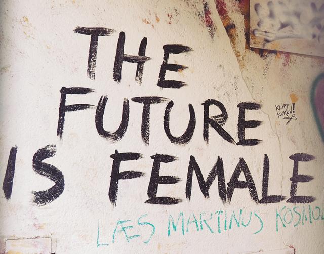 Copenhagen feminist graffiti