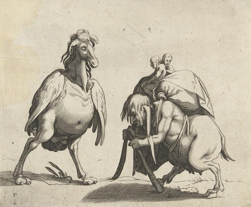 Arent van Bolten - Grotesque Creatures 1, 1604-1616