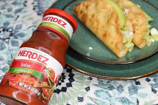 Easy Potato Tacos For Any Day #herdezkids