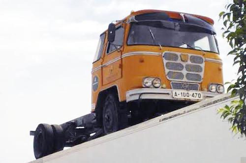 Camió Nazar B desballestament