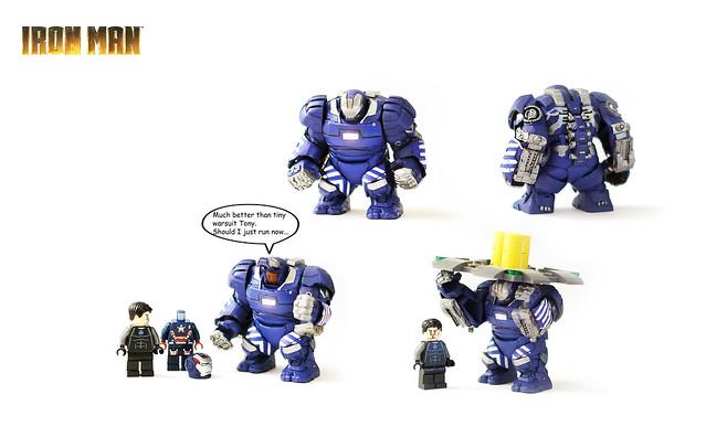 Lego Iron Man Mark 38 Igor Suit