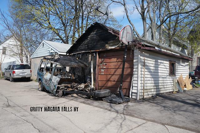 Urban decay in Niagara Falls, New York