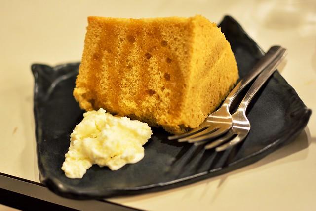ビッカフェのシフォンケーキ