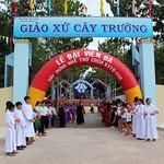 Giáo Xứ Cây Trường: Lễ Đặt Viên Đá Xây Dựng Nhà Thờ Ki-tô Vua