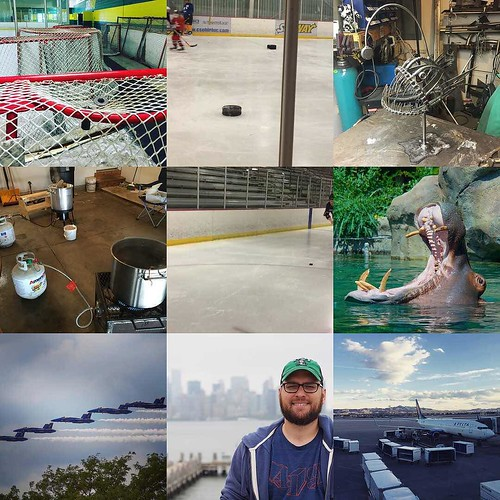 Hockey, brewing, welding, and airplanes. Looks like my motorcycle game was a little off this year. Sounds like a challenge for next year! Happy New Year, everyone!