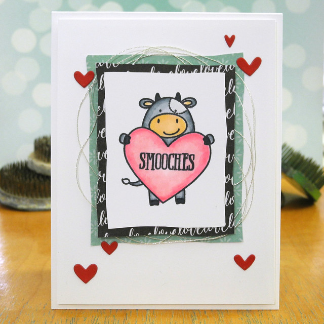 Smooches by Jennifer Ingle #AveryElle #SimonSaysStamp #JustJingle #ValentinesDay