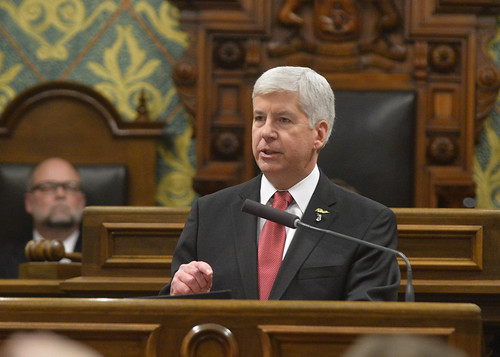 Governor Rick Snyder's 2016 State of the State address
