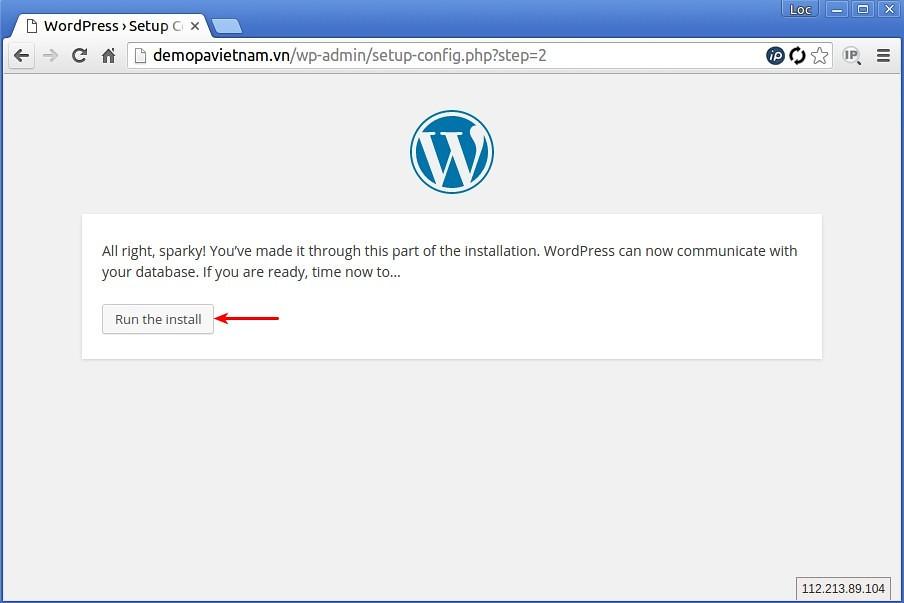 Hướng dẫn cài đặt Wordpress thủ công trên host PA Việt Nam