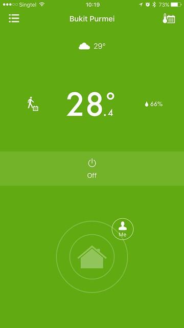 tado iOS App - Away Home