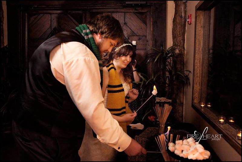 The ULTIMATE Harry Potter wedding roundup as seen on @offbeatbride #harrypotter #wedding