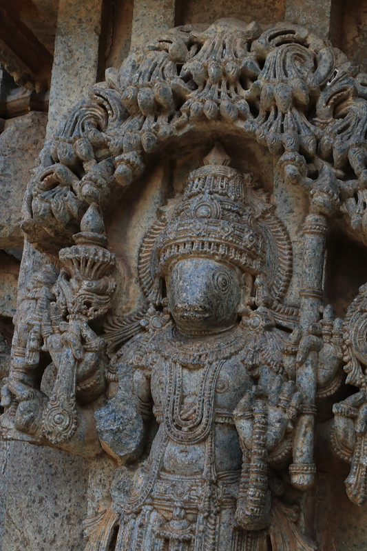 Matsya - Fish headed Vishnu