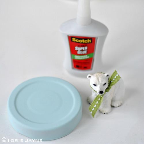 Polar bear jar tutorial 1