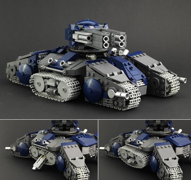 SC2 Siege Tank - Tank Mode