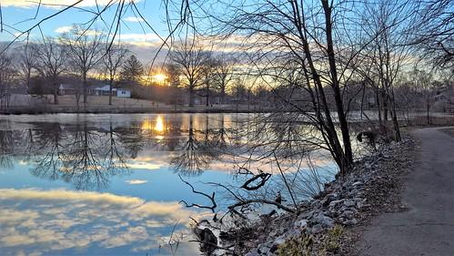 trees nature water clouds sunrise reflections lakes windowsphone lumia lumia950