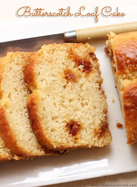Eggless Butterscotch Cake Recipe