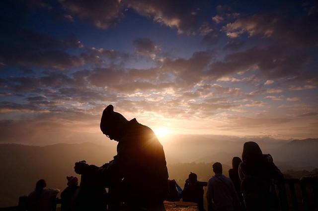 Sunrise viewing #sunrise Philippines #baguio #natgeotravel #travel #adventure