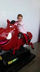 Riding Pumba