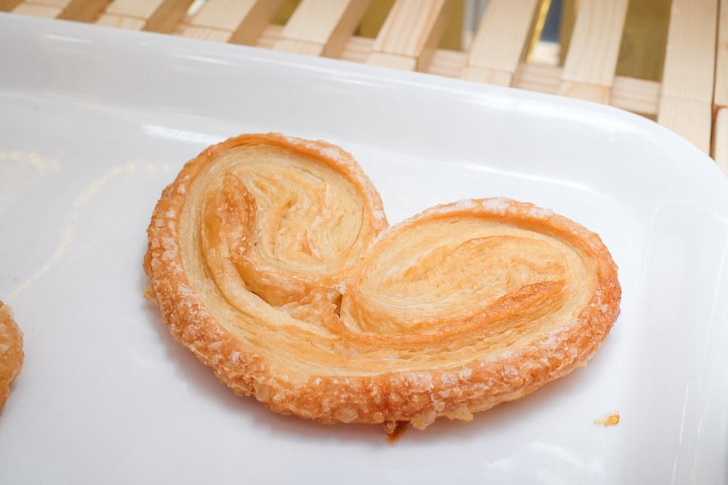 面包店:帕尔默,独特的蝴蝶酥