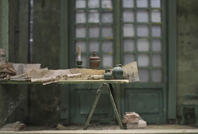 B125 - Peter Gabriëlse- box sculpture, new work at Kunst & Antiek Weekend - Naarden 2016