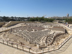 A Model of Old Jerusalem at the Israel Museum
