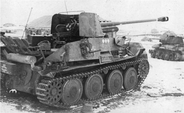 Abandonned under Stalingrad tysk tank destroyer Marder III