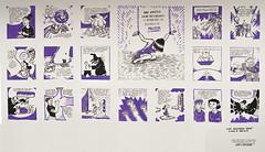 Mural-cómic de Dani García-Nieto + Colectivo Malavida