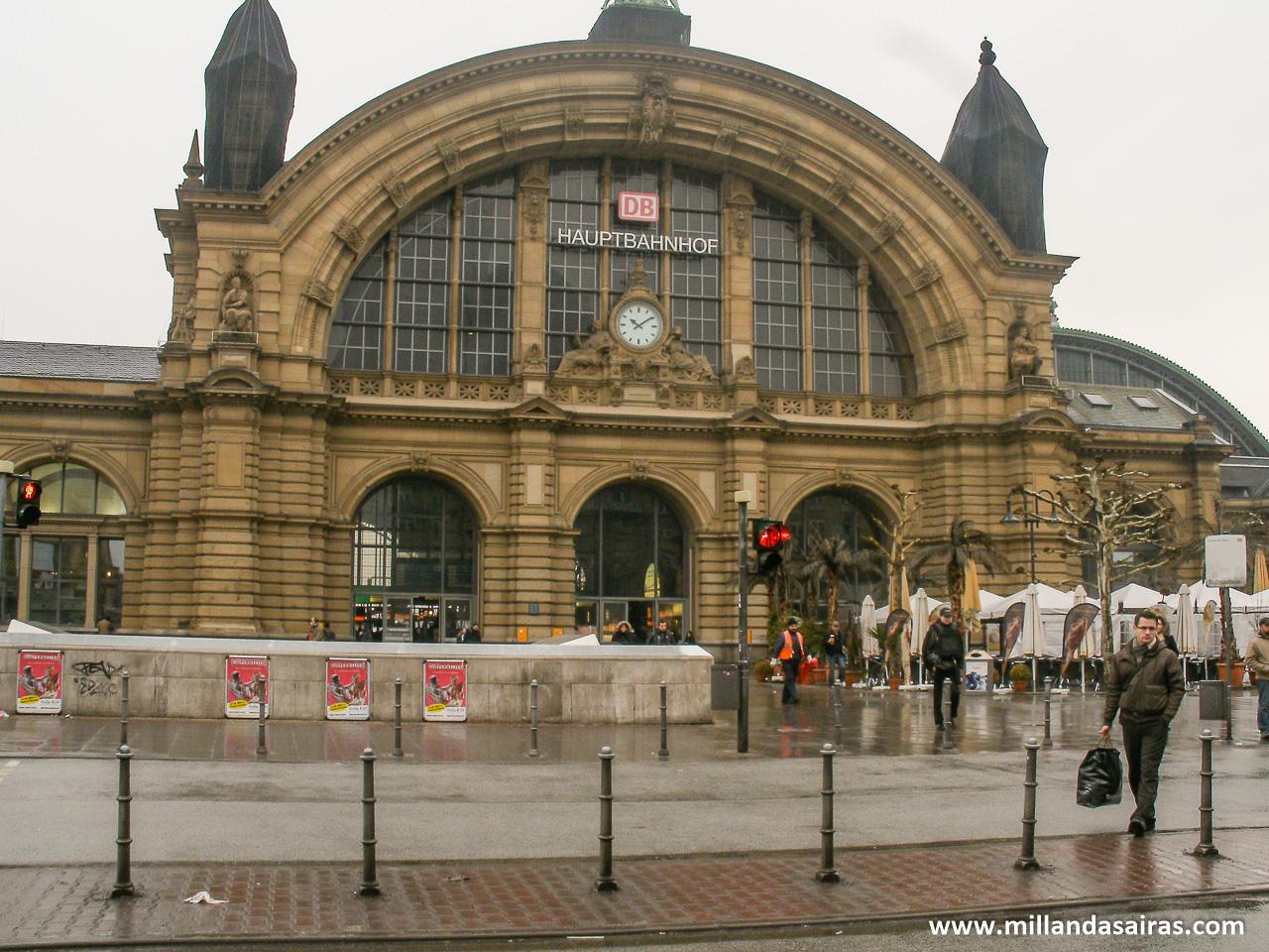 Estación central de tren de Frankfurt