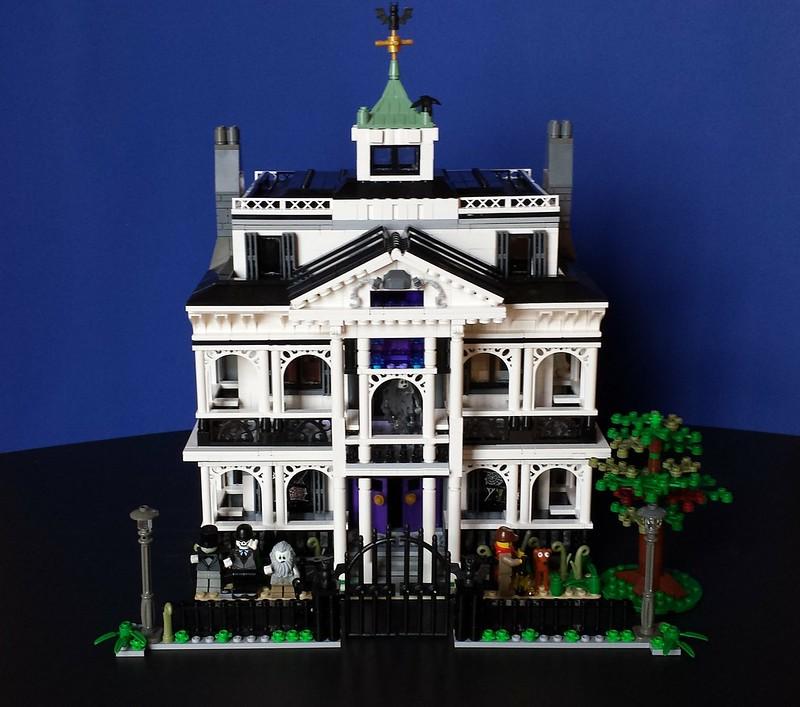 Haunted Mansion Disneyland Lego Town Eurobricks Forums