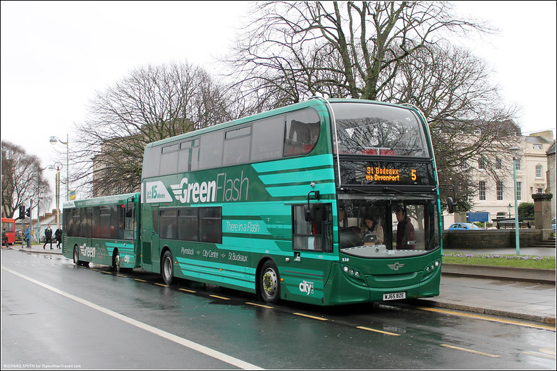 Plymouth Citybus 538 WJ65BZE